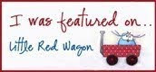 I was featured on little red wagon 25/04/2012