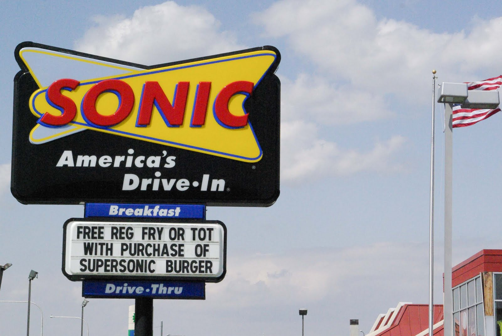 Image result for sonic drive thru