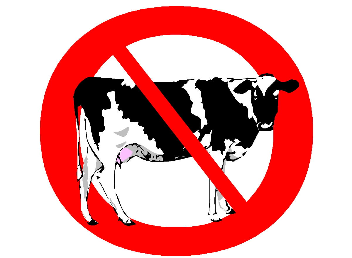 Free Posters and Signs: No Cow