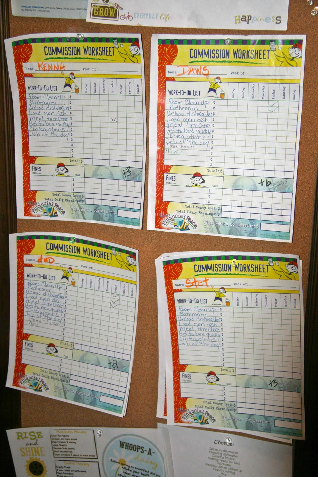 How To Run Dave Ramsey S Chore System For Kids