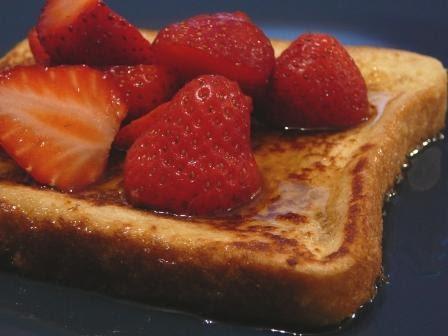 G terie du dimanche matin le pain dor aux fraises et au sirop d 39 rable chroniques gourmandes - Je suis absente du bureau ...