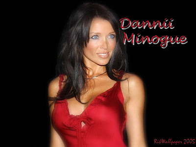 Desktop Wallpaper of Dannii Minogue | Dannii Minogue Hot Models Desktop