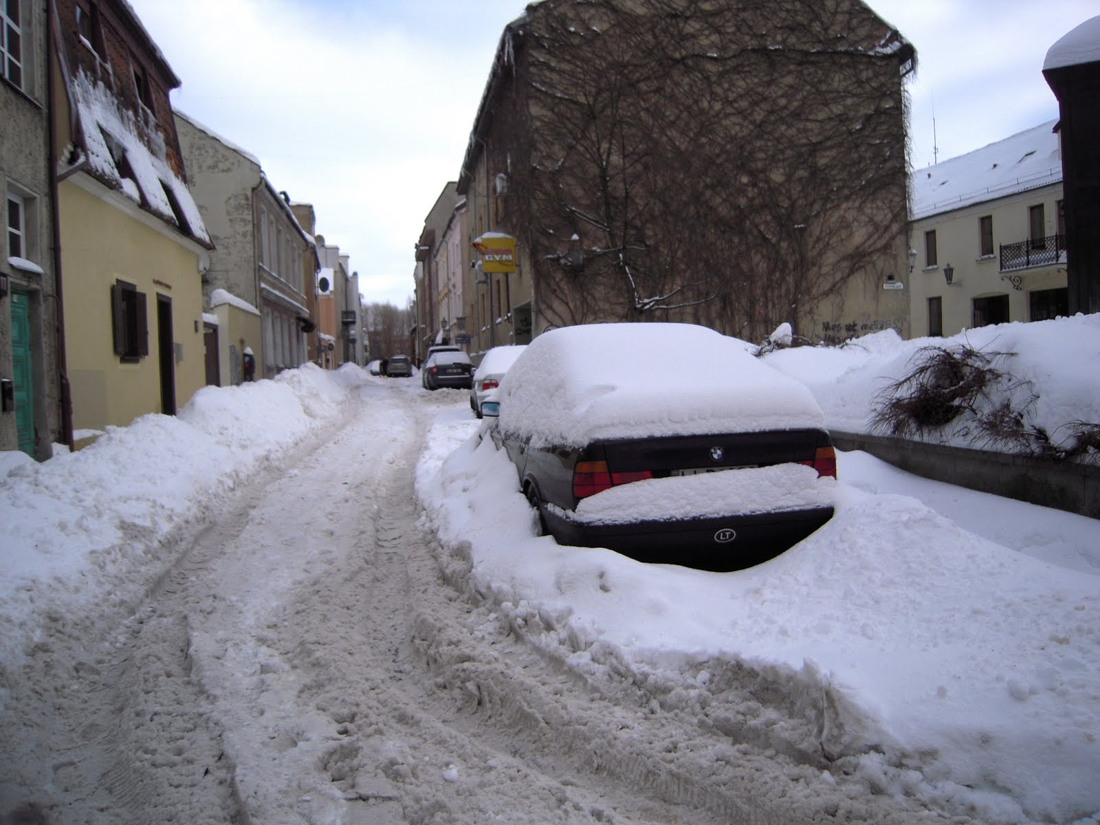 Living In Lithuania: Snow And Ice