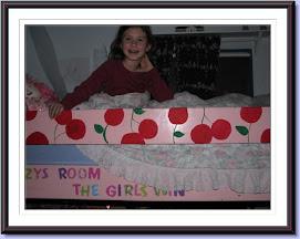 Cherry loft bed