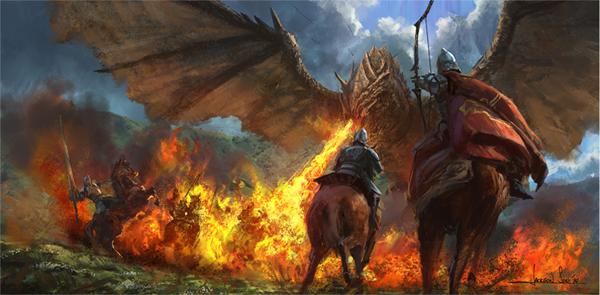 Jackson Sze: Dragon Flame StepsFire Flames Dragon