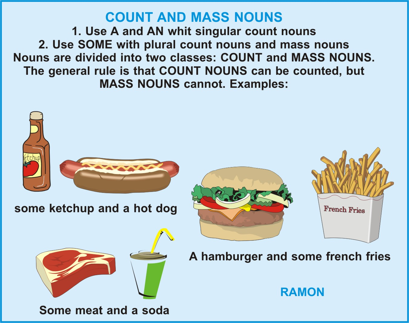 Docentesmelgarinos Countable And Uncountable Nouns