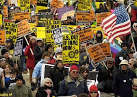 9/11 explains the impotence of the anti-war movement