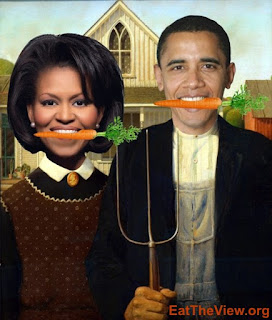 obama supports the food industrial complex & all we get is a lousy white house garden?