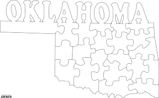 Free Scroll Saw Patterns by Arpop: Oklahoma State Puzzle