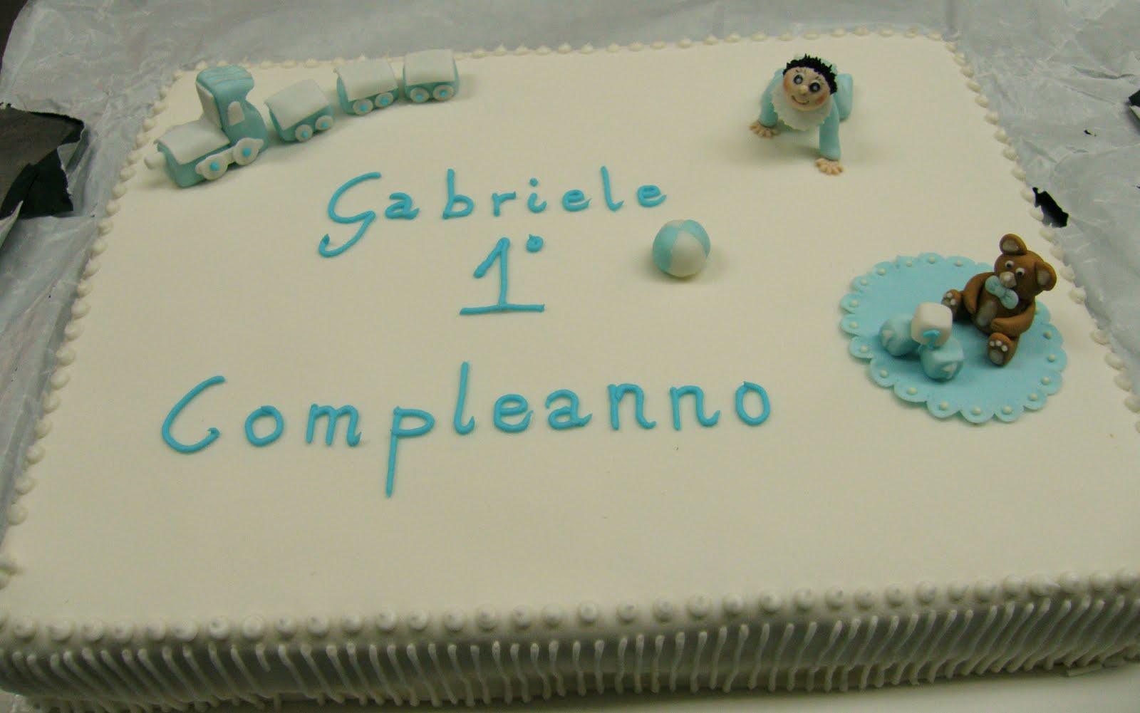 I dolci pensieri di Claudia: Il primo compleanno di Gabriele