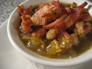 Spiced Butternut Squash Soup with Bacon