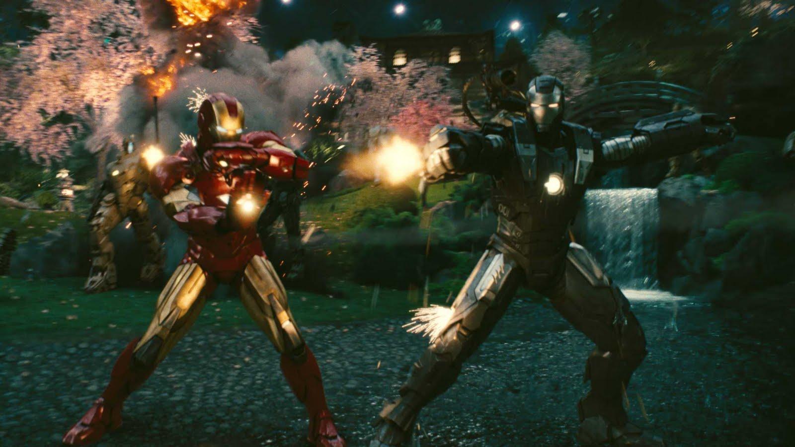Descargar Iron Man 4 A2zp30: Iron Man 1 Y 2 (Español Latino, PL)