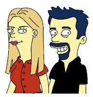Shari & Myke Simpsonized