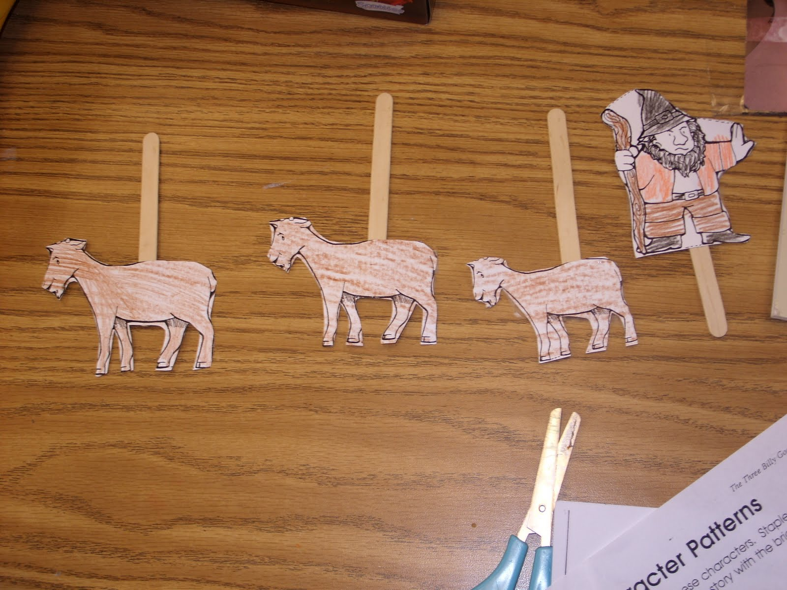 Put Your Whole Self In The Three Billy Goats Gruff