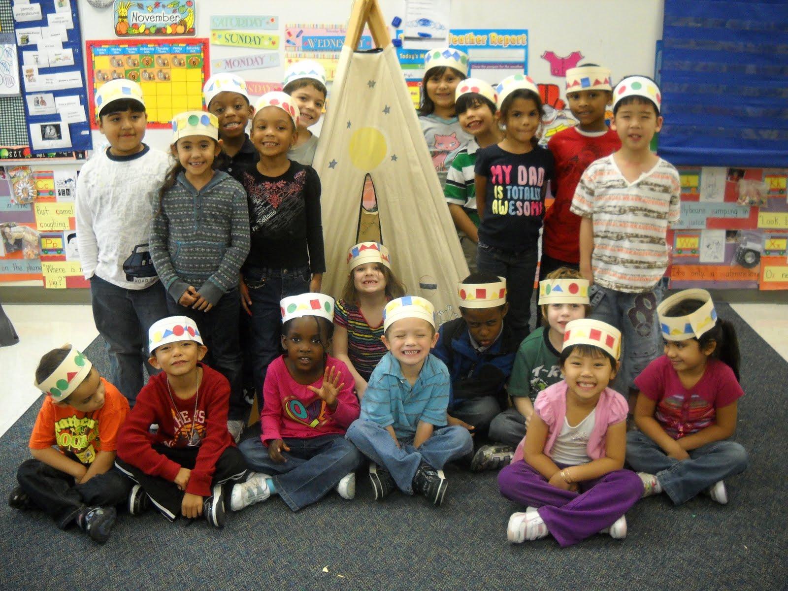 Kinder Garden: Mrs. Wood's Kindergarten Class: Pattern Headbands