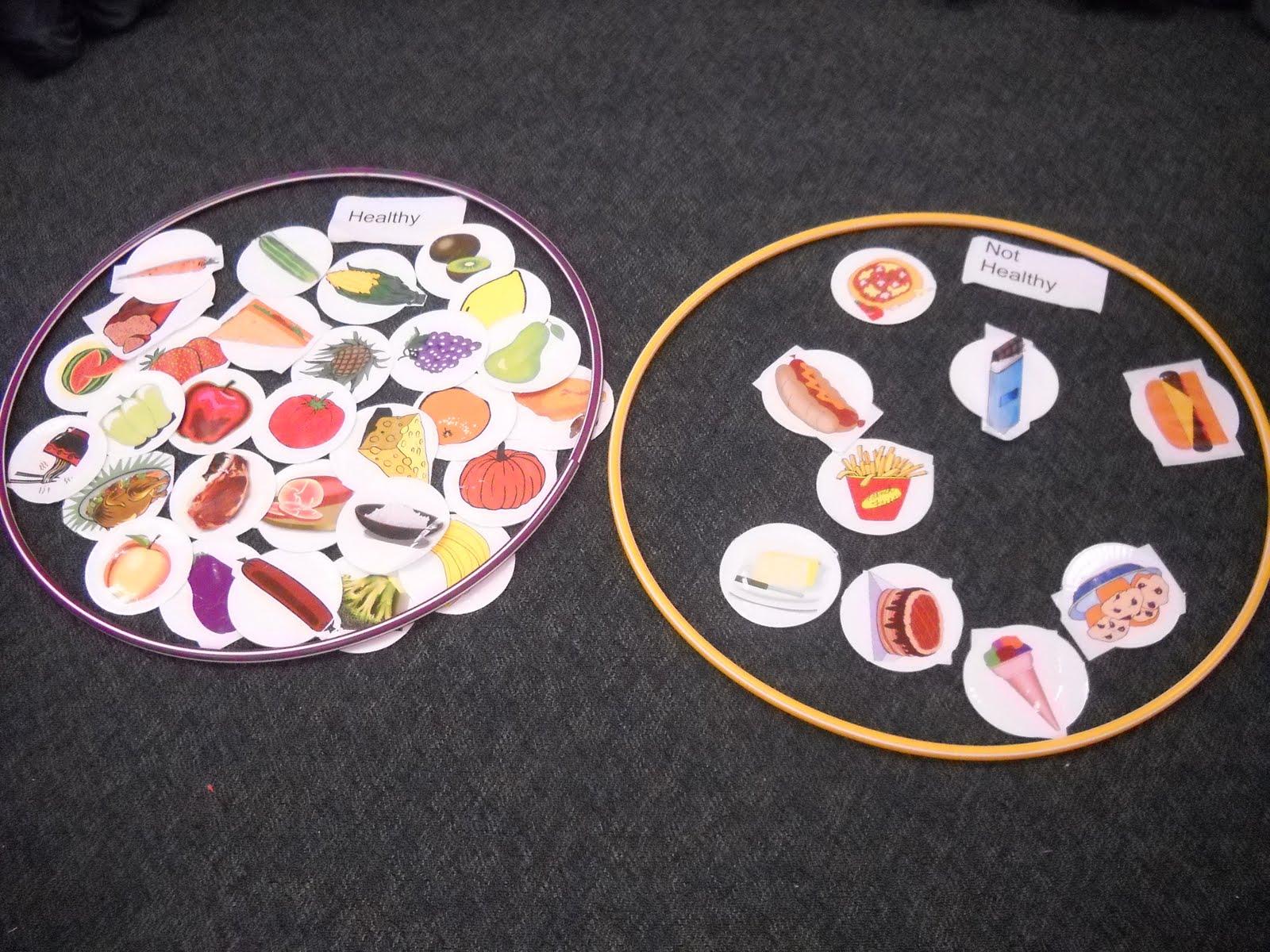 Mrs Woods Kindergarten Class Nutrition