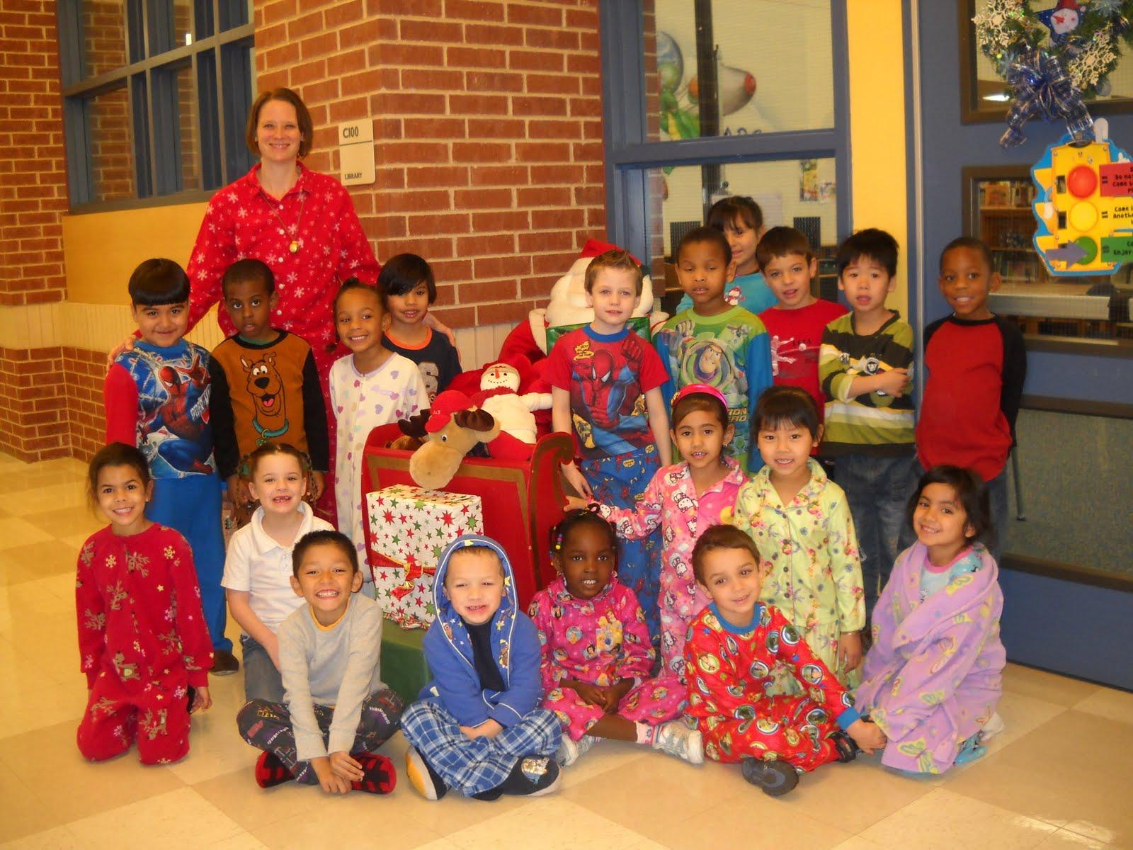 Mrs Wood S Kindergarten Class Polar Express Day