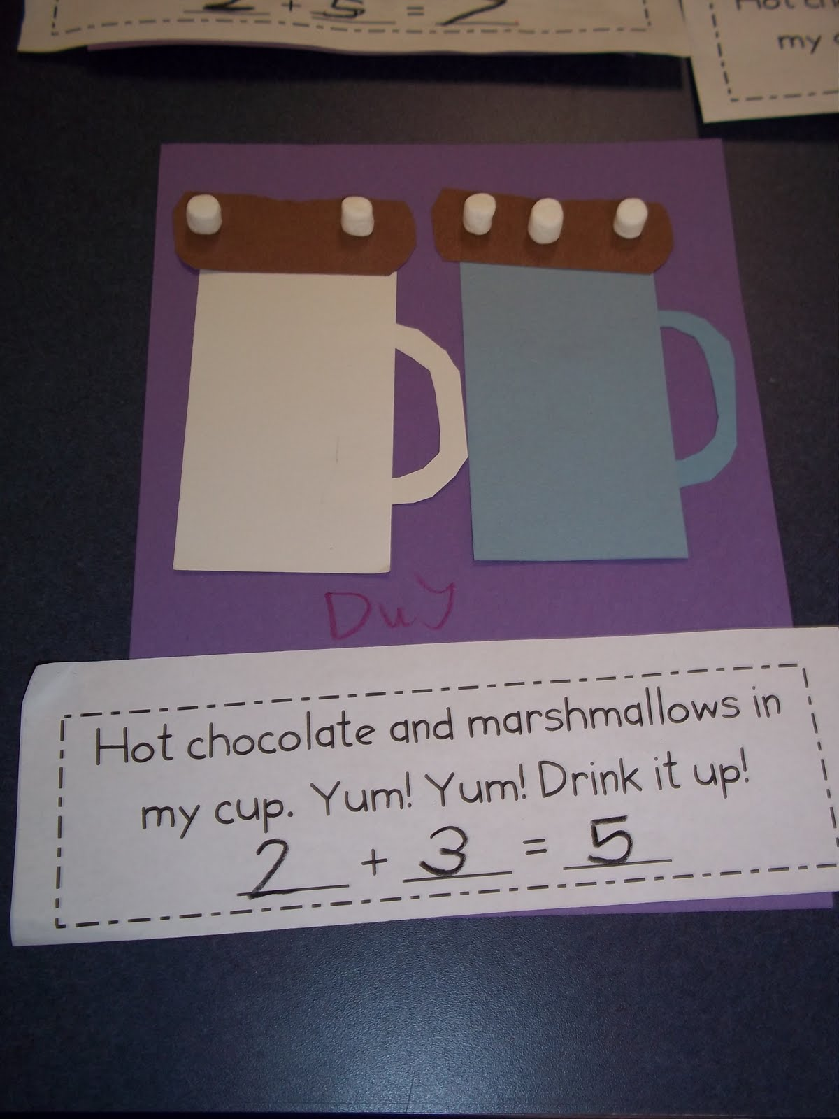 Mrs Wood S Kindergarten Class Hot Chocolate Math