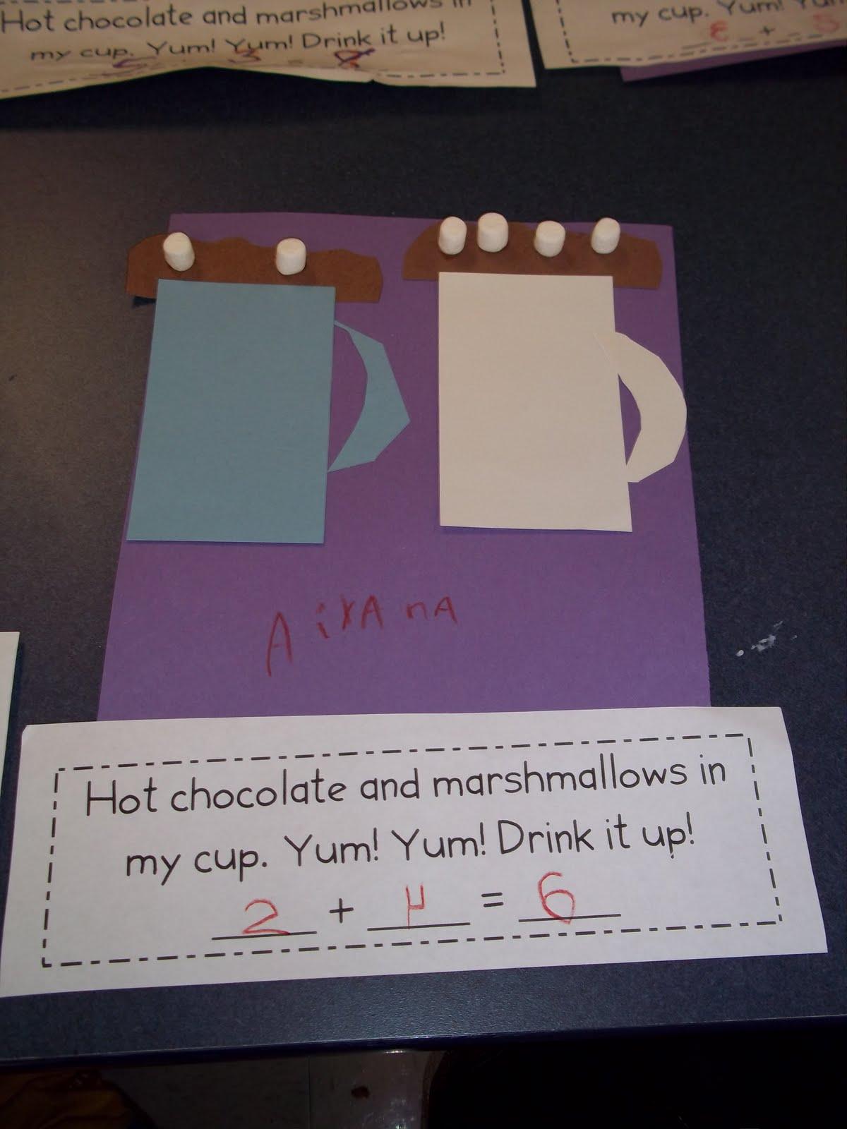 Kinder Garden: Mrs. Wood's Kindergarten Class: Hot Chocolate Math