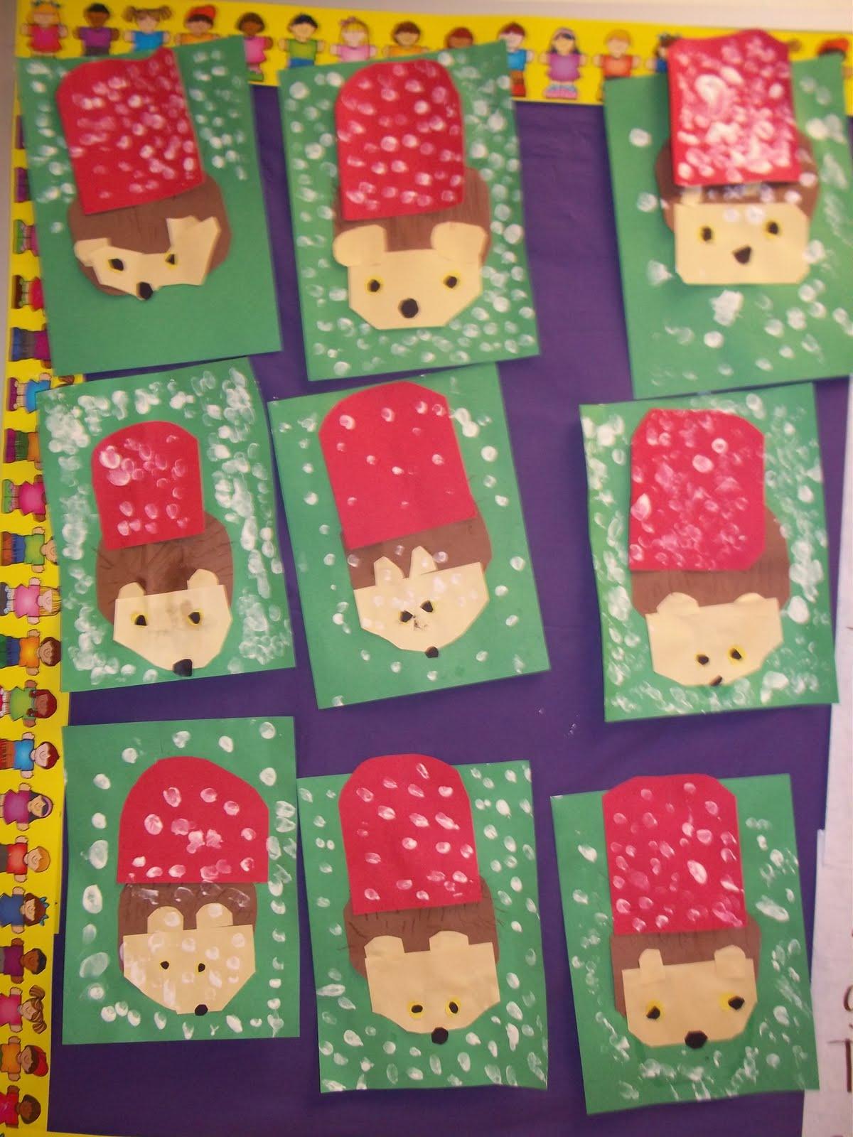 Kinder Garden: Mrs. Wood's Kindergarten Class: The Hat