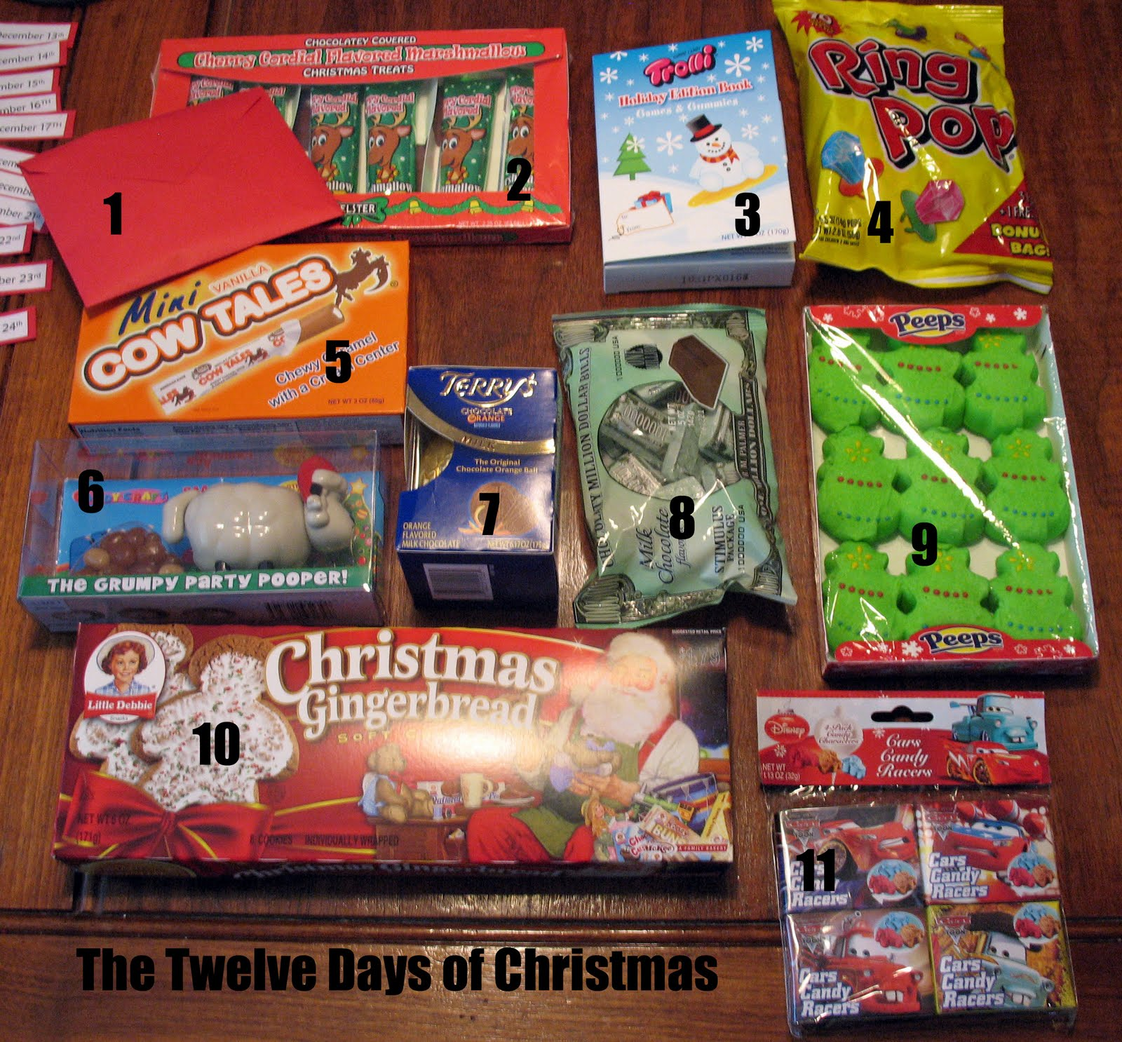 Gift Ideas For The 12 Days Of Christmas: Twelve Days Of Christmas: A Story And A Treat