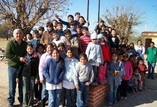 Alumnos Escuela Santa Rosa