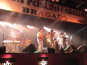 Los Legüel en la Fiesta del Caballo en Bragado