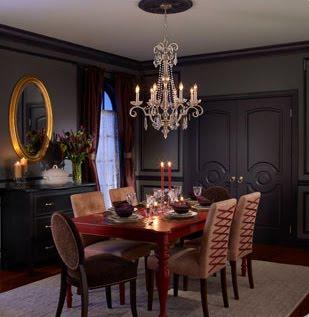 Design Dark Gothic Dining Room