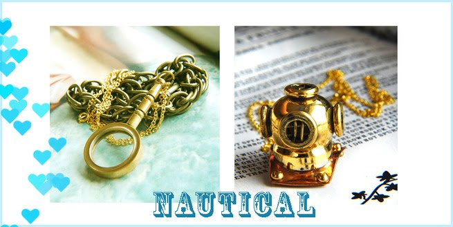 nautical themed jewellery
