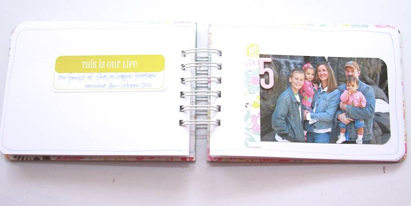 Journaling Mini Album Tutorial | Monika Wright