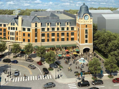 Maurice Walters architect, Torti Gallas, Catholic University, retail for lease, Brookland construction, Washington DC