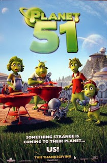 Planet 51 Official Poster