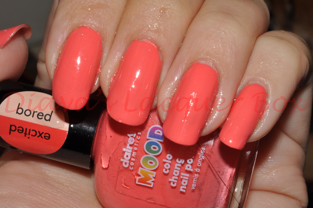 Diava S Lacquer Box Notd Claire S Mood Colour Changing Nail Polish In Bored Excited And Calm Wild