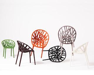 Gama de colores silla vegetal de vitra