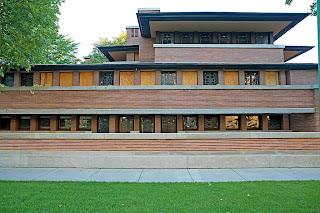 Casa Robie Chicago Frank Lloyd Wright 1909  Blog Arquitectura y Diseo