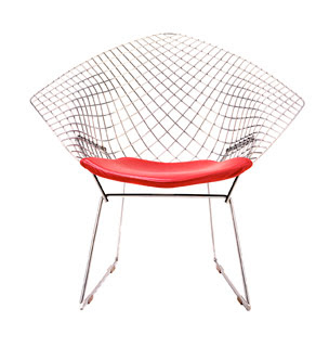 Silla Diamond Loungue de Harry Bertoia