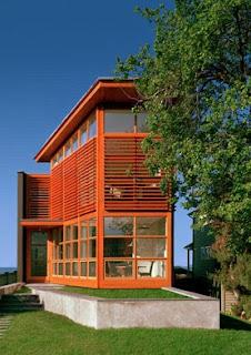 casa de diseño frente al mar
