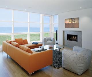 casa de diseño en el mar