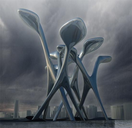 Enoki eco city de ofl architecture arquitectura y dise o for Los mejores disenos de interiores del mundo