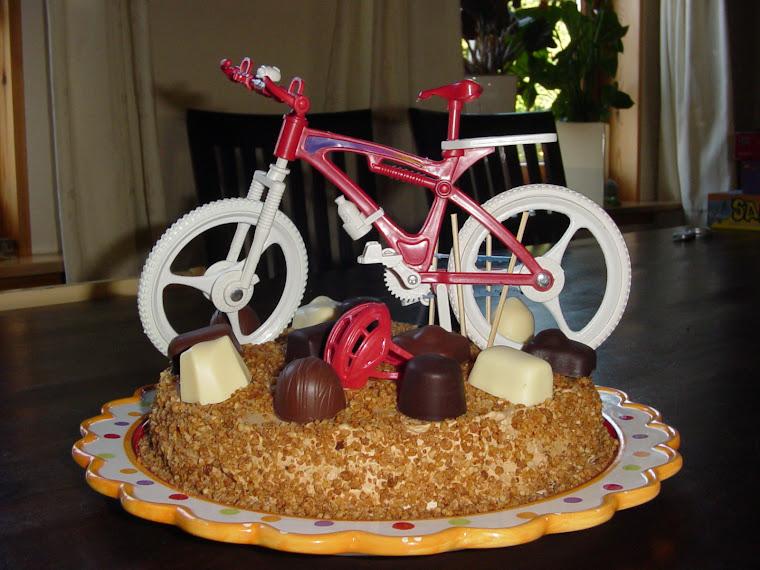 Mountainbike Taart