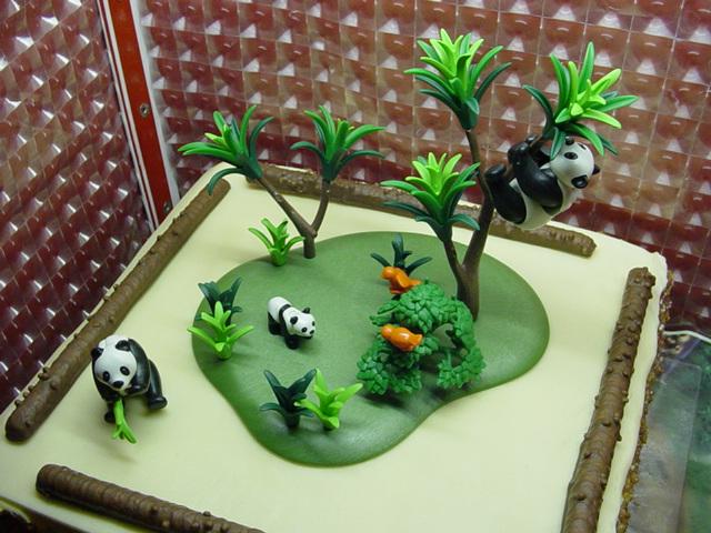 Pandaberen Taart