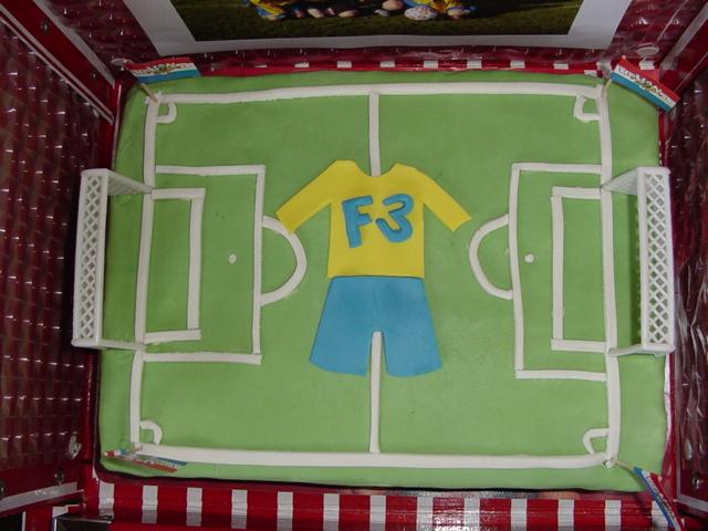 Voetbal Taart F3