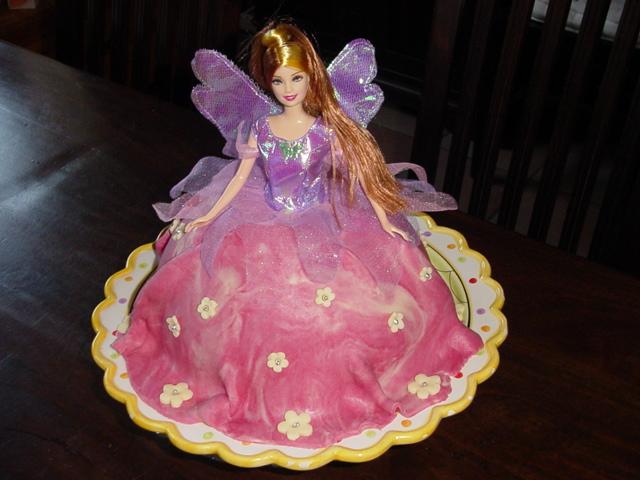 Barbie Elfje Taart