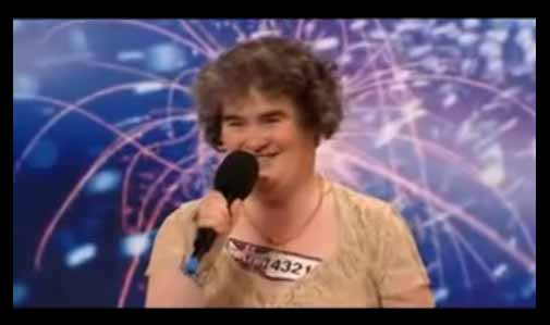 O fenômeno Susan Boyle - Não julgue as pessoas pela aparência