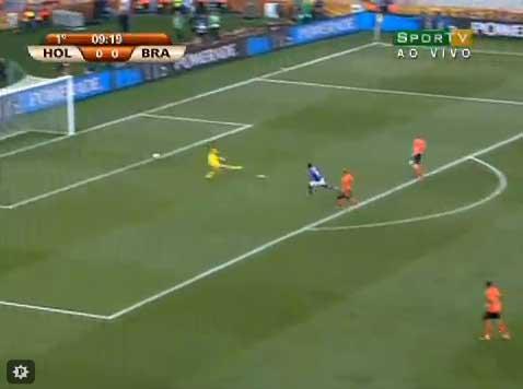 Copa 2010 - Análise de Holanda 2 x 1 Brasil