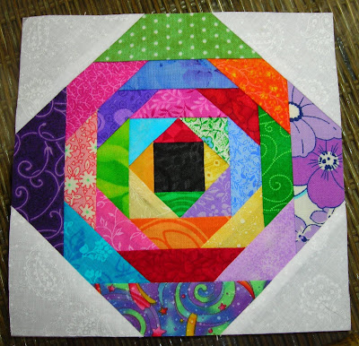Quilty Indulgence Scrappy Pineapple Quilt Blocks