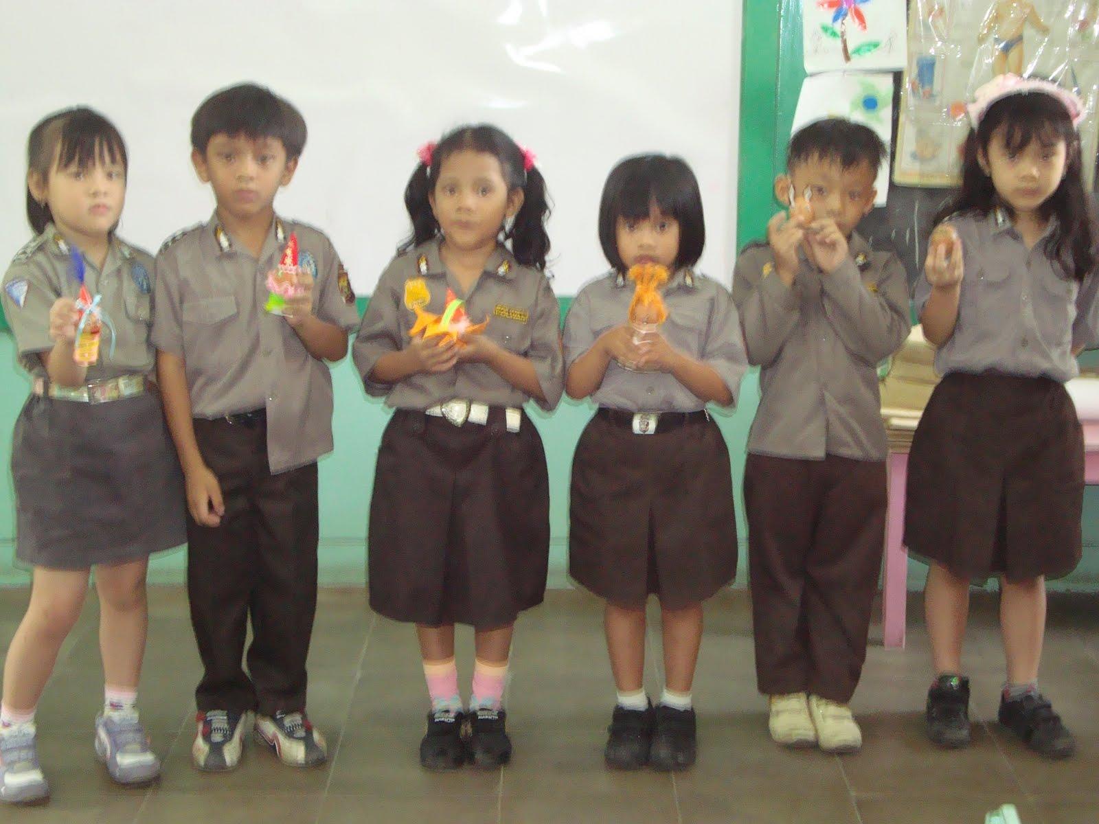 TK XAVERIUS 1 PALEMBANG Lomba Menghias Telor Anak TK