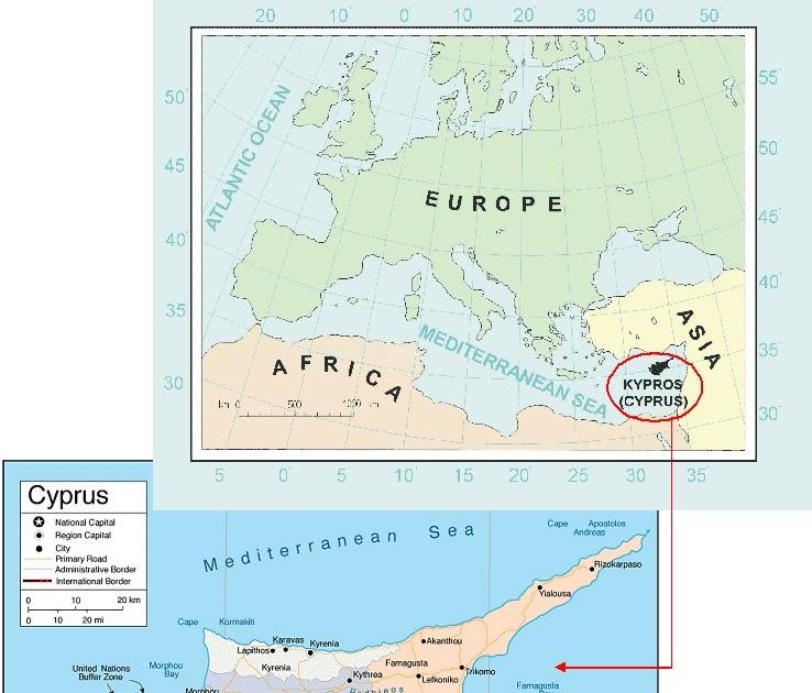 International Study of RE-Regions: Republic of Cyprus (Cyprus Island)