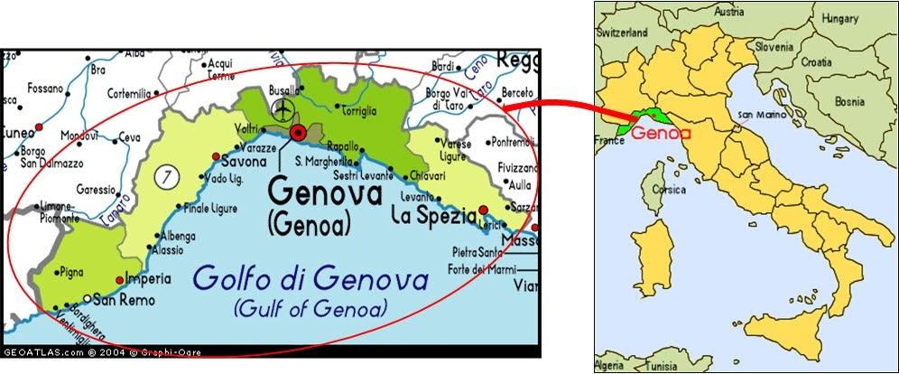 Map North Italy Regions.International Study Of Re Regions Region Of Liguria Italy