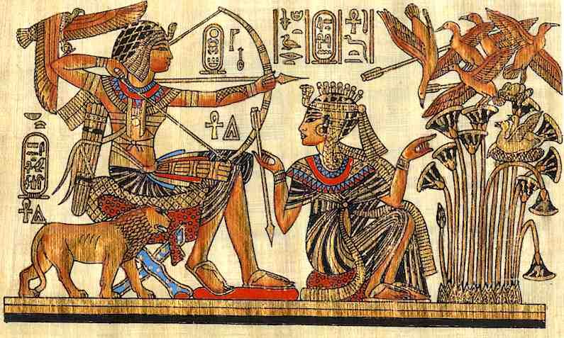 Fuente Kings And Queens: Egipto (escritura,ciencia, Conocimiento Científico Y